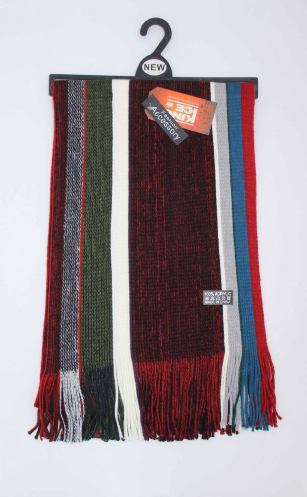 Mens knitted scarfs winter scarfs (HT17-SCR626832)